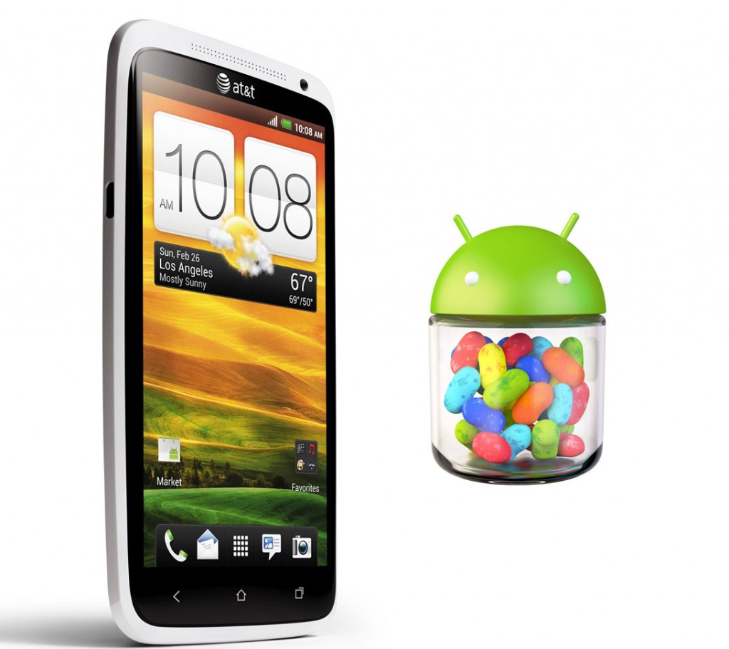 HTC One X Android 4.1 Jelly Bean