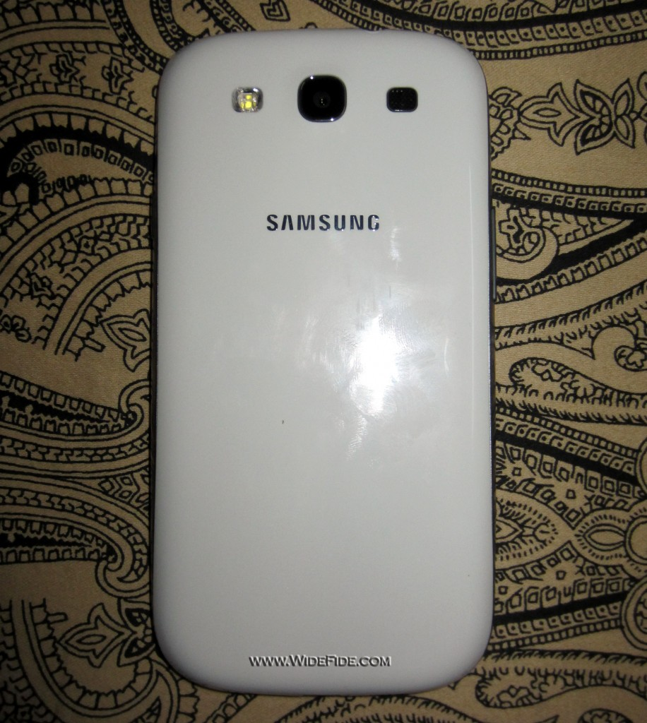 Samsung Galaxy S3 Backside