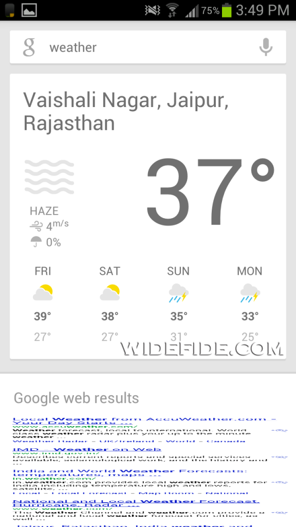Google Now on Android ICS Rooted Galaxy S3