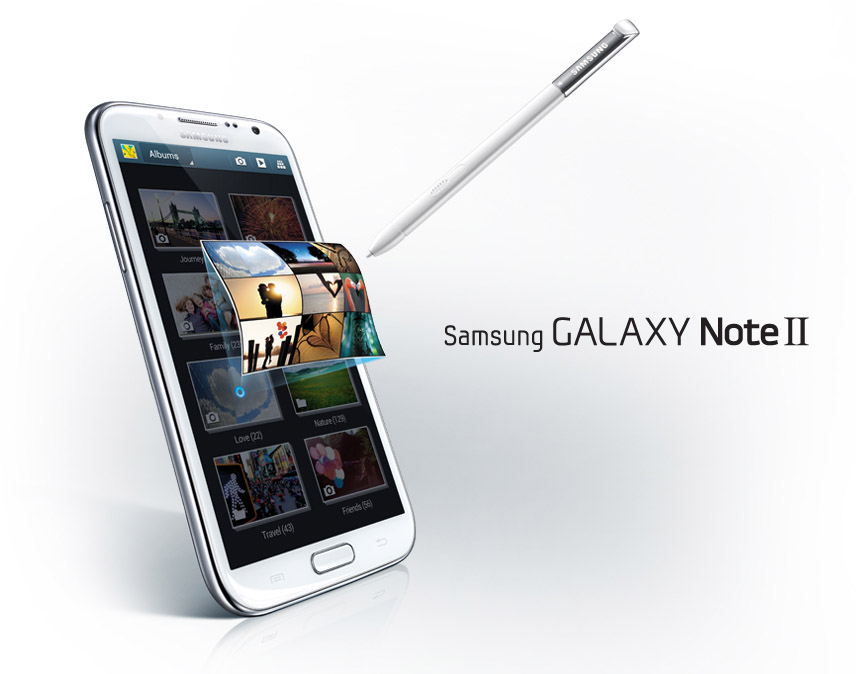 Samsung Galaxy Note 2 Press Pic