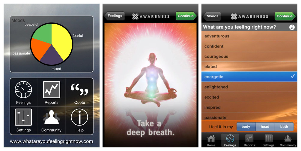 AWARENESS App for iOS - Stress Out Using These Mobile Apps