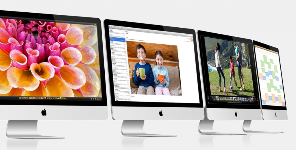 Apple iMacs 2012