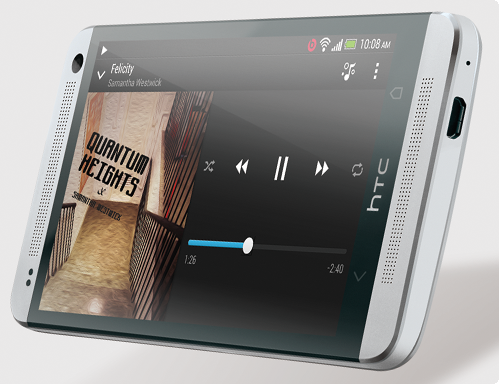 HTC  One Dual Speakers