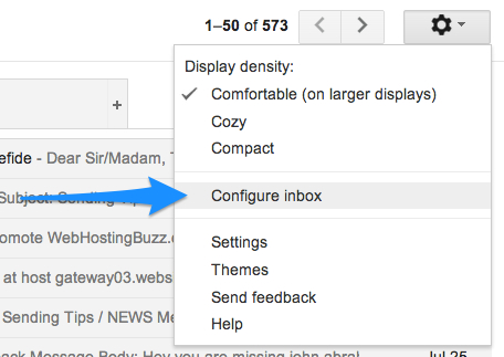 How to Disable Gmail's New Inbox Tabs 3